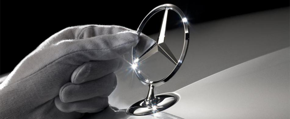 Mercedes-Benz Pointed Star Emblem