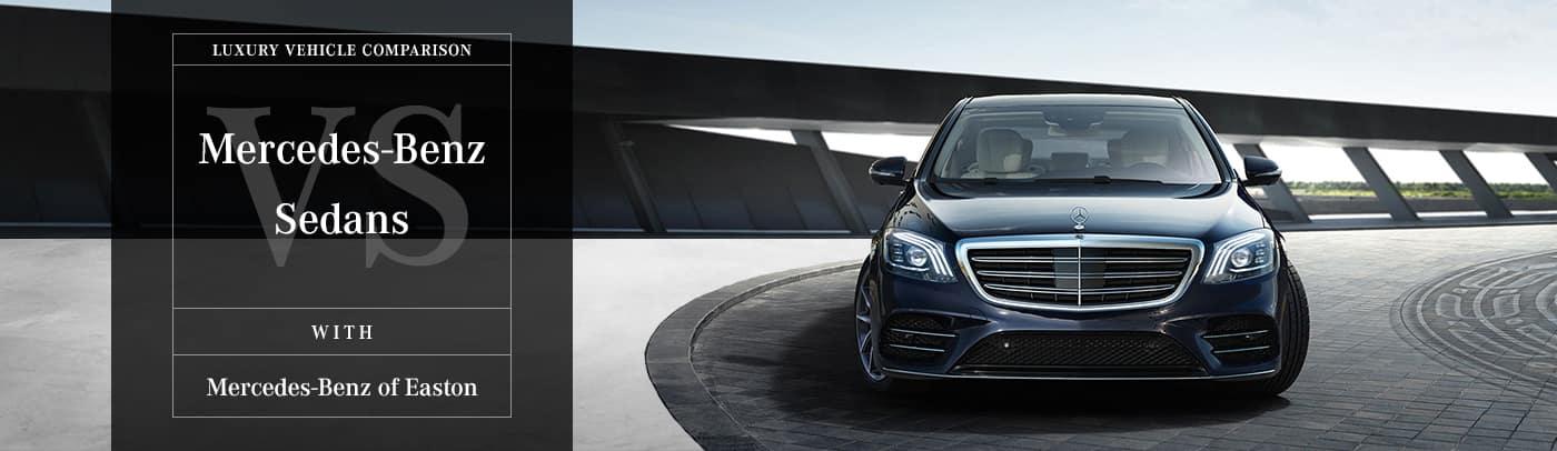 Compare Mercedes-Benz Sedans