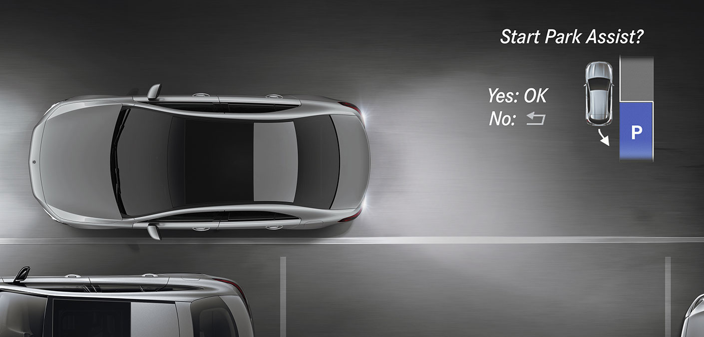 2020 Mercedes-Benz A-Class Park Assist Safety