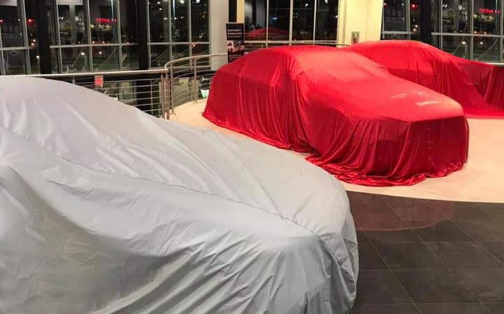 2019 Mercedes-Benz CLS Launch Event Before Reveal