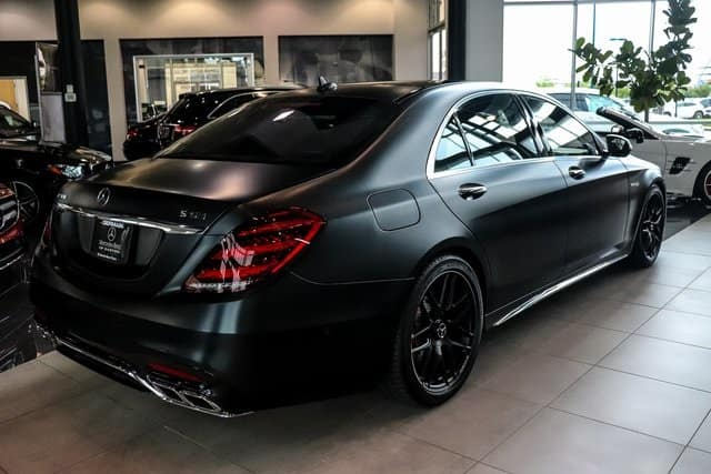 2019 Mercedes-Benz S-Class AMG®️ S 63 Matte Black