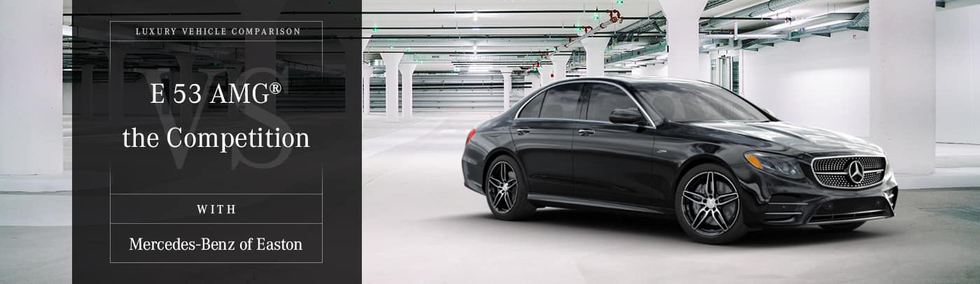 Mercedes-Benz vs. the Competition Comparison Page in Columbus, OH