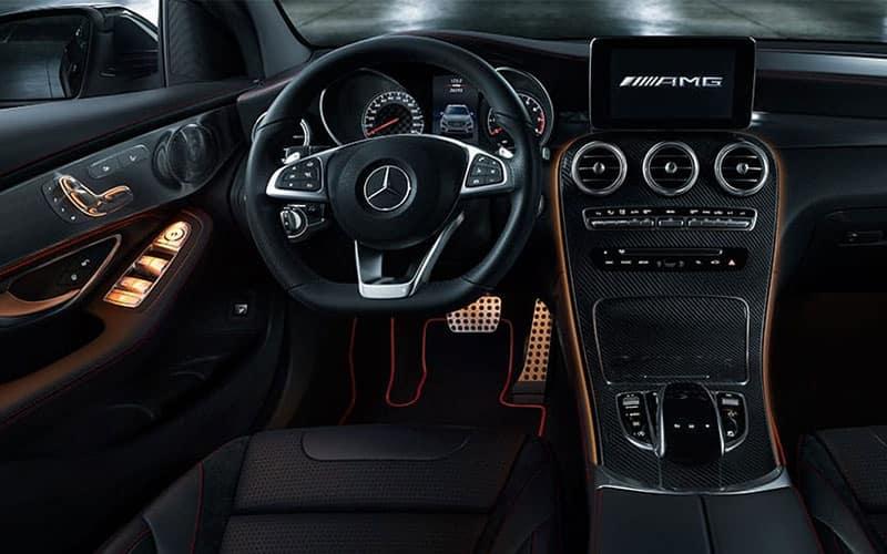 AMG GLC 43 Coupe Interior
