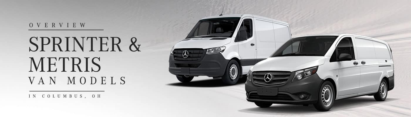 2019 Mercedes-Benz Metris & Sprinter Model Overviews at Mercedes-Benz of Easton