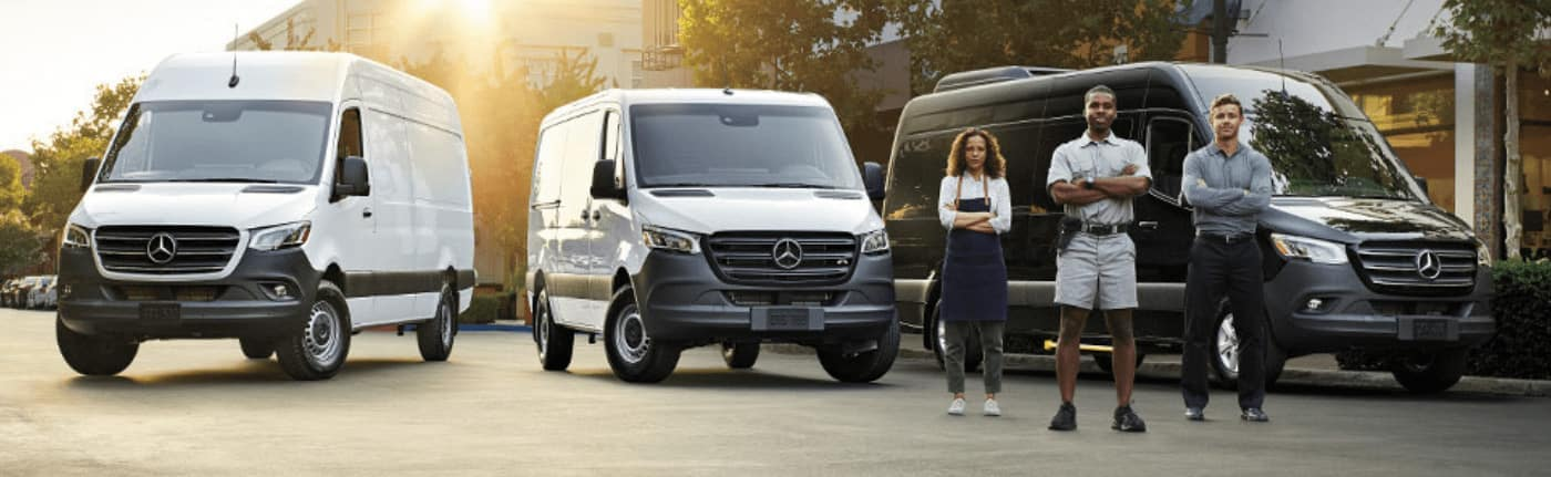 Mercedes-Benz Commercial Van Lineup