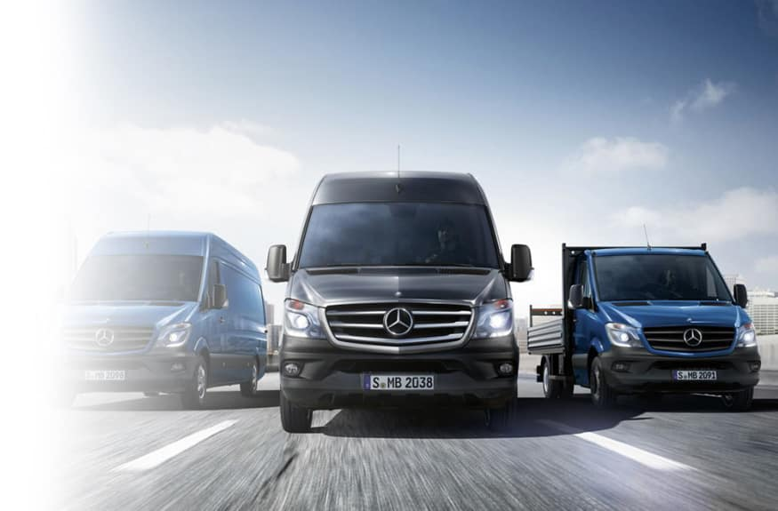 Mercedes-Benz Certified Pre-Owned Sprinter Vans