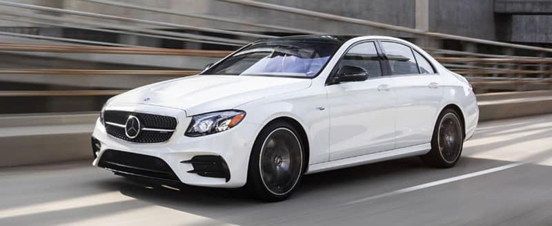 Mercedes-Benz E 53 AMG Sedan White