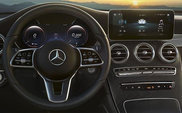 Mercedes-Benz GLC SUV Technology