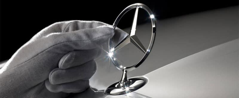 Mercedes-Benz Pointed Star Emblem
