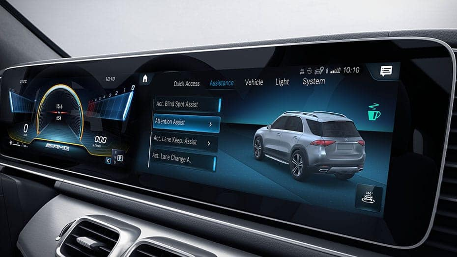 Mercedes-Benz GLE Attention Assist