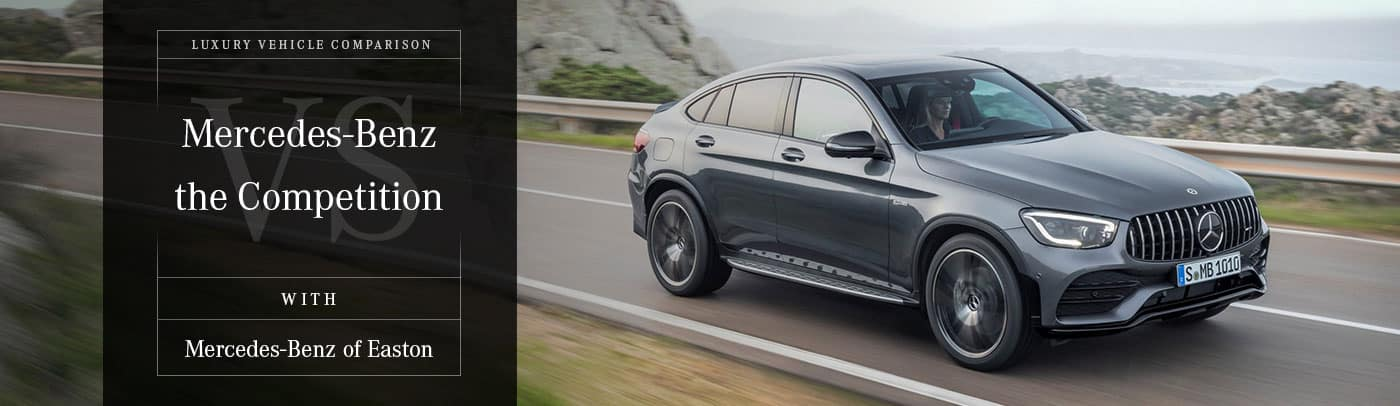 2019 Mercedes-AMG GLC 43 Coupe vs Porsche Macan S