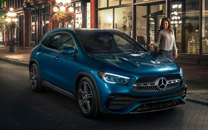 Mercedes-Benz GLA Performance