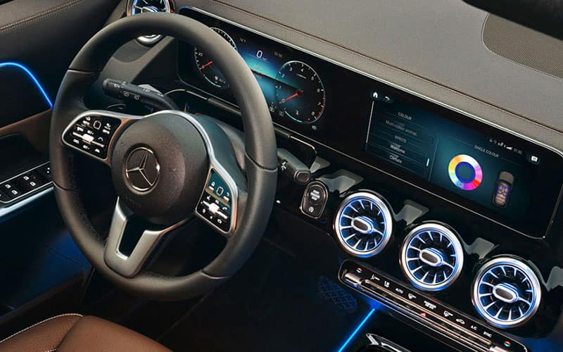 2020 Mercedes-Benz GLA Technology