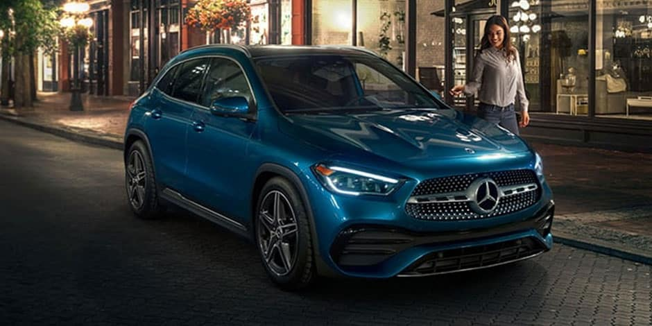 Mercedes-Benz GLA Styling