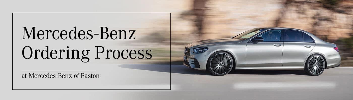 Mercedes-Benz Ordering Process