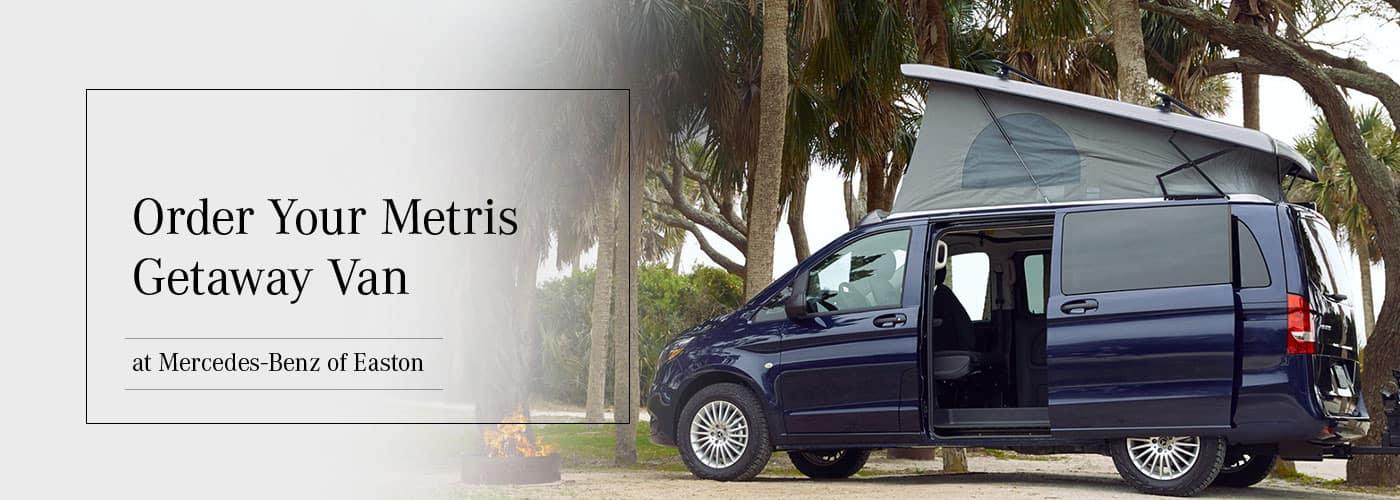 Order Your Mercedes-Benz Metris Getaway Van