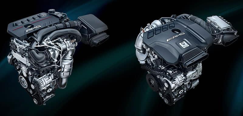 Mercedes-AMG GLA Engines