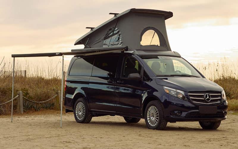 Mercedes-Benz Metris Getaway Van Awning