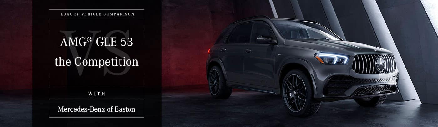 2021 Mercedes-AMG®️ GLE 53 vs The Competition