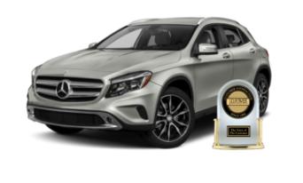 Mercedes-Benz GLA J.D. Power Award