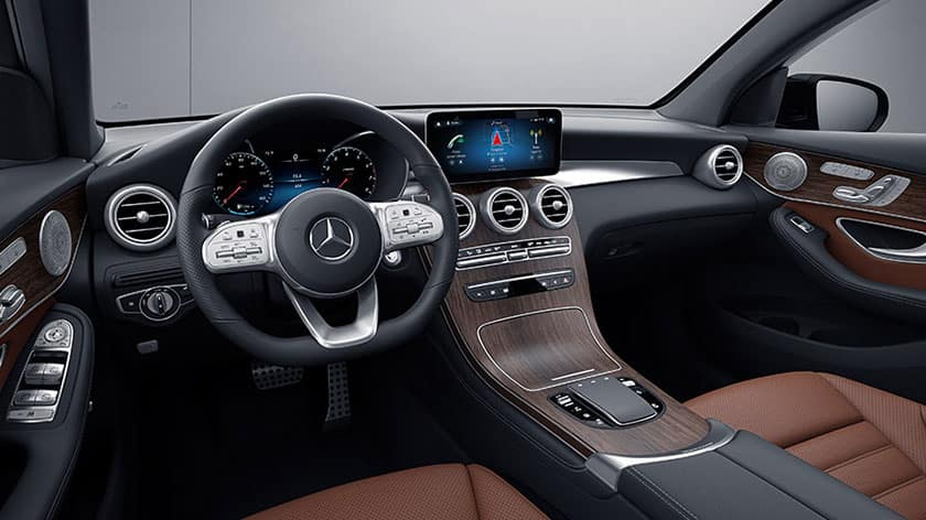 Mercedes-Benz GLC Coupe Interior