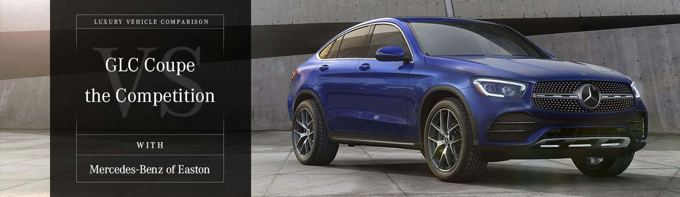 Mercedes-Benz GLC Coupe vs The Competition