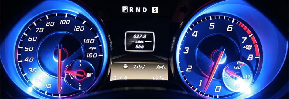 Mercedes-Benz SL K40 Electronics Radar Notification