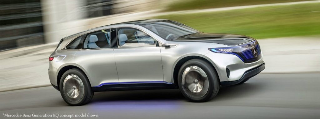 Mercedes Benz Electric Hatchback Concept To Be Featured At Frankfurt