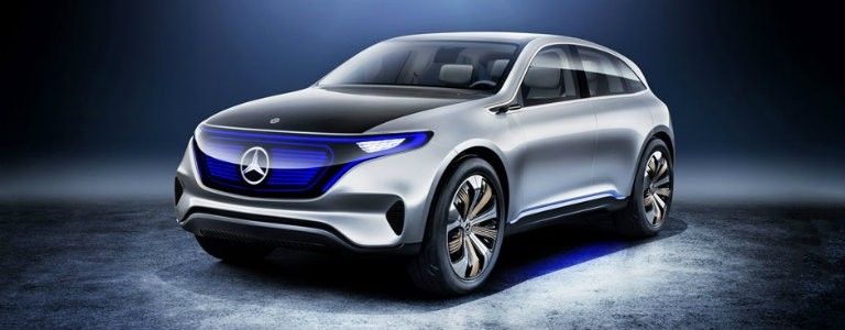 Mercedes-Benz Electric Hatchback Concept