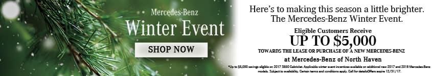 Mercedes-Benz December Winter Event Banner