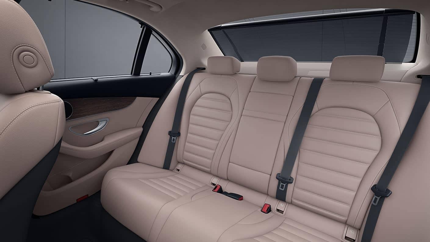 2019 Mercedes-Benz C-Class Sedan back interior
