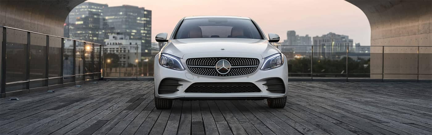 Mercedes-Benz C-Class Front End View