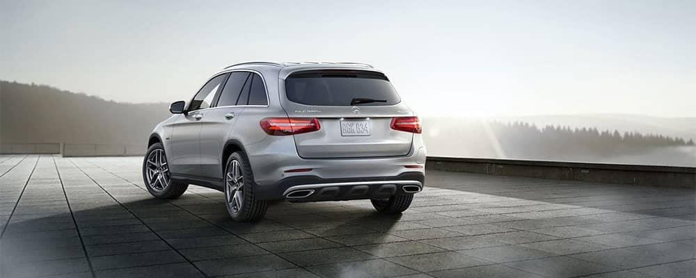Mercedes-Benz GLC Parked Rear View