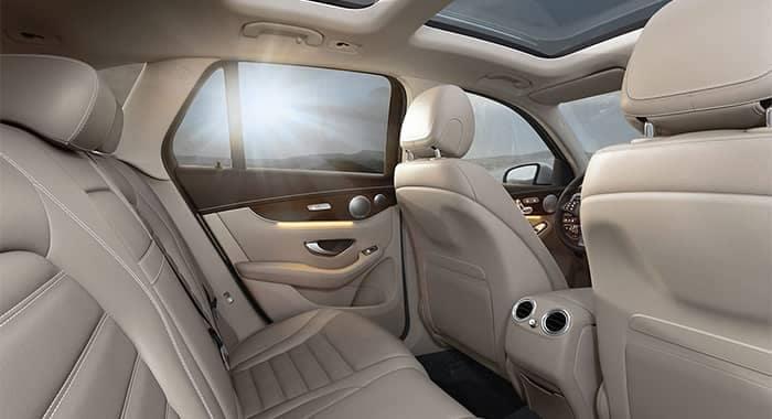 Mercedes-Benz GLC Rear Seat