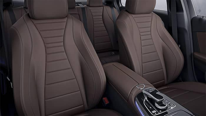 Mercedes-Benz E-Class Interior Seating and Features