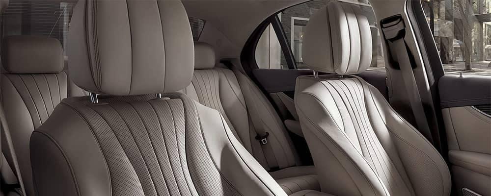 Mercedes-Benz E-Class Interior Seating