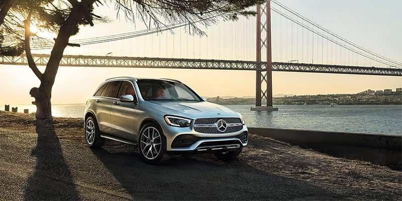 Mercedes-Benz GLC Parked on Side Road