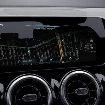 2020 MB GLB Navigation