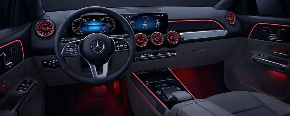 Mercedes-Benz GLB Interior Dashboard Features