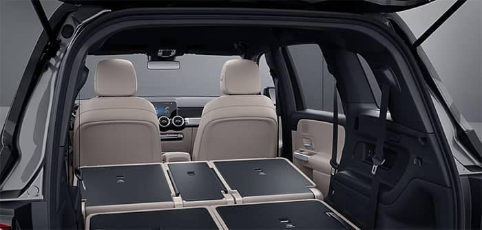 Mercedes-Benz GLB Interior View from Rear Gate