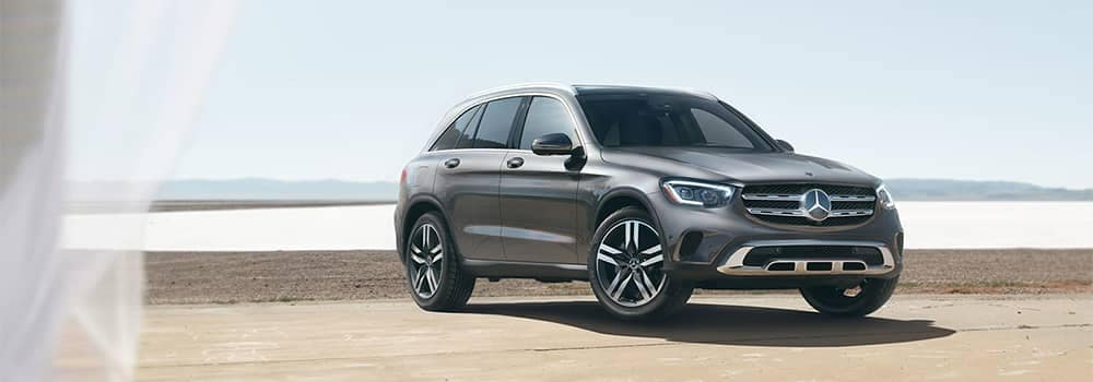 Mercedes-Benz GLC Parked on Beach