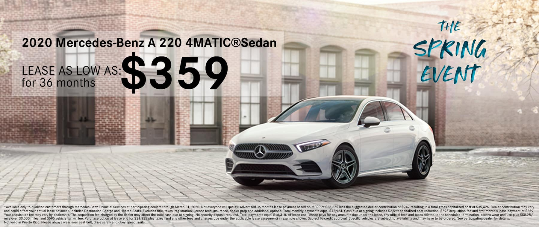MB of North Haven A 220 4MATIC Lease Offer
