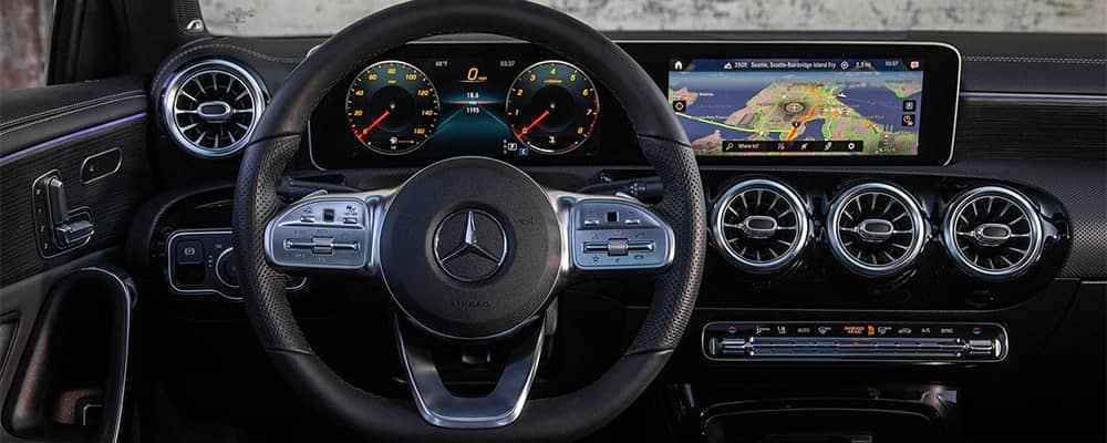 Mercedes-Ben A-Class Interior Dashboard
