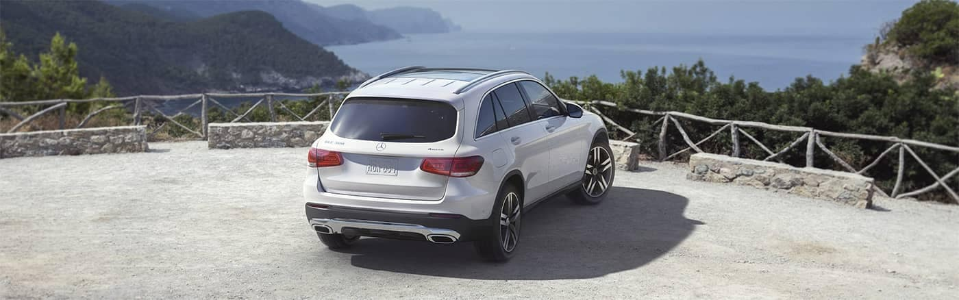 Mercedes-Benz GLC Parked at a Lookout Hill