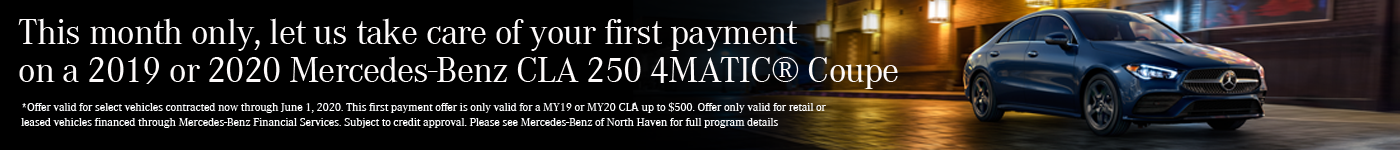 CLA First Month Payment Credit
