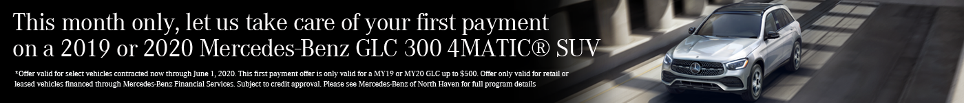 GLC First Month Payment Credit
