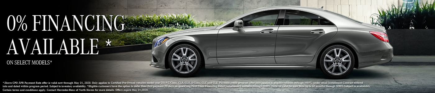 0% Financing on select CPO models