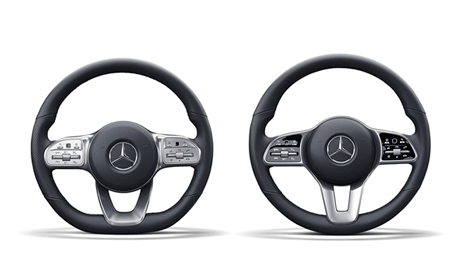 Steering-wheel touchpads put the world at your thumbs