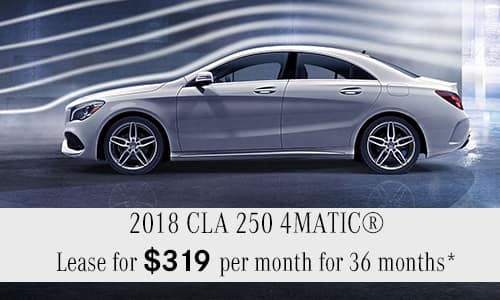 2018 CLA 250 4MATIC® Coupe