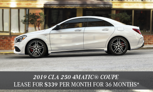 2019 CLA 250 4MATIC® Coupe